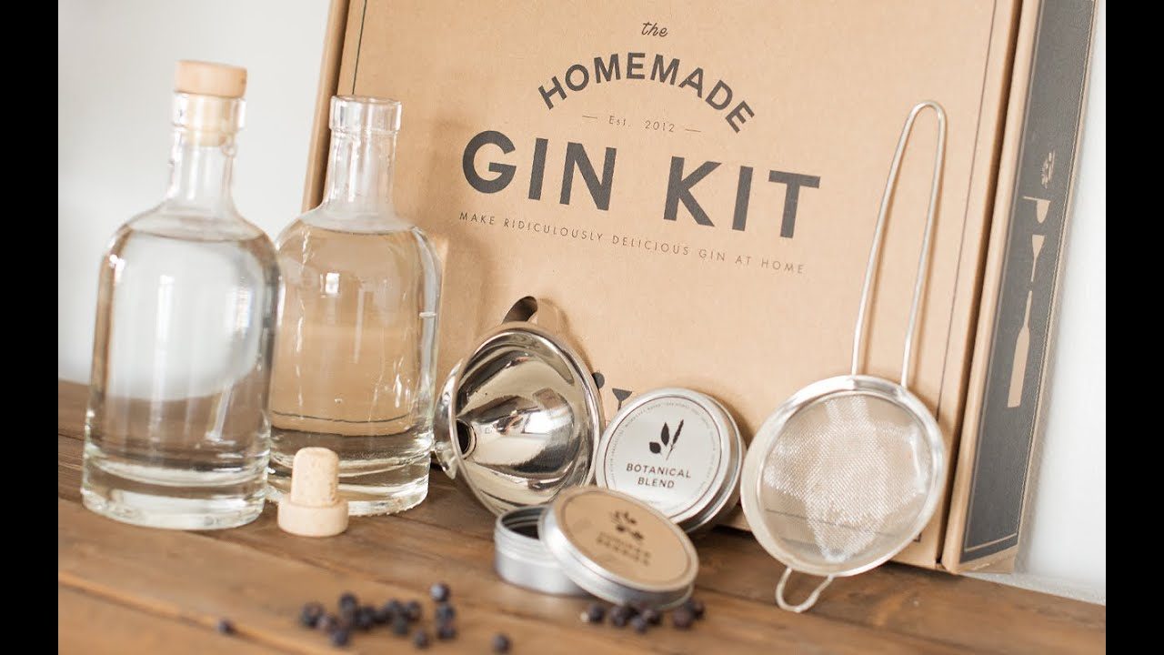 HomeMade Gin Kit - DIY Gin Kit - YouTube