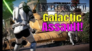 Star Wars Battlefront 2 GALACTIC ASSAULT - SPECIALIST CLASS is EPIC! HIGH KILLS and HERO STREAKS!