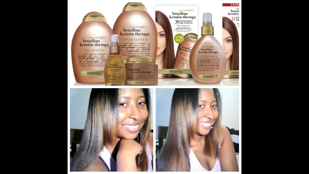Brazilian Blowout Keratin Treatment Natural Hair