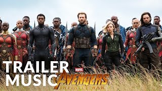 Marvel Studios' Avengers: Infinity War - Official Trailer Music | Audiomachine - Redshift