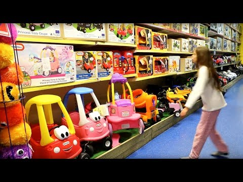 Thumbnail: Sleeping in the Toy Store Overnight - Playing Hide and Seek