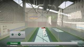 Don Bradman Cricket 17 / 2017 Academy Net Practice