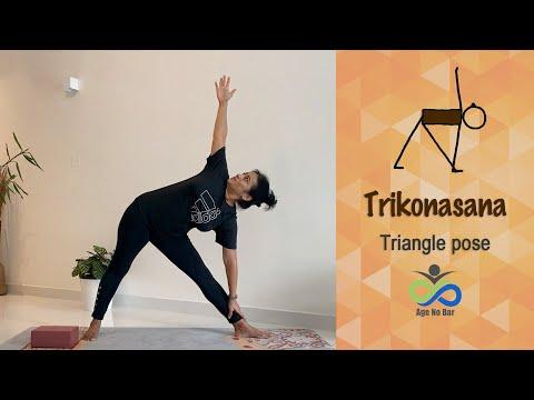 Trikonasana | Triangle Yoga Pose Variations | Standing Yoga Stretches