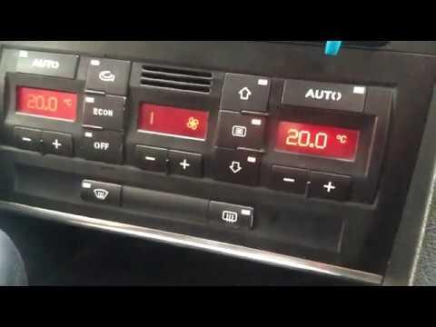 Стертые Кнопки климат контроля AUDI A4? Не Беда!