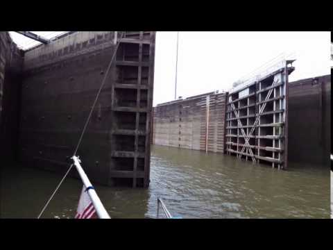 Transiting The Demopolis Lock In Alabama