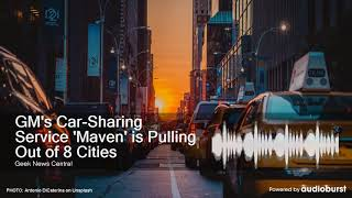GM's Car-Sharing Service &…