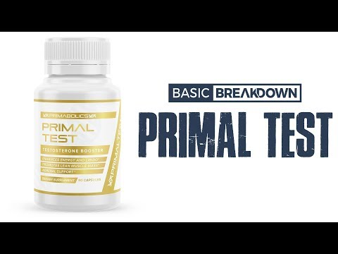 Primabolics Primal Test Testosterone Booster   Basic Breakdown