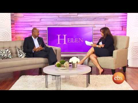 Helen Show With Haddis Tadesse, Country Representative  Gates Foundation