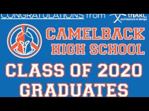 Camelback High School Graduation 2020 with the JV Sports Show