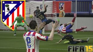 Atletico de Madrid VS Manchester City - Partidazo de Infarto - Temporadas Online | FIFA 15 Gameplay