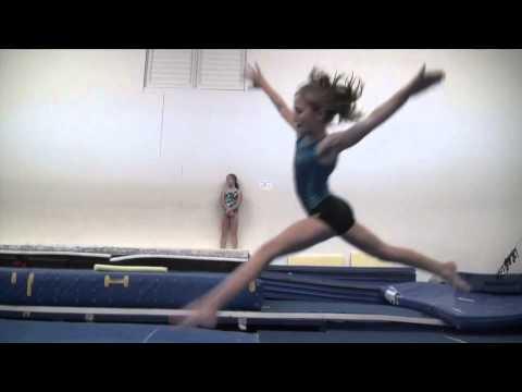 Gymnastics Aurasma Film