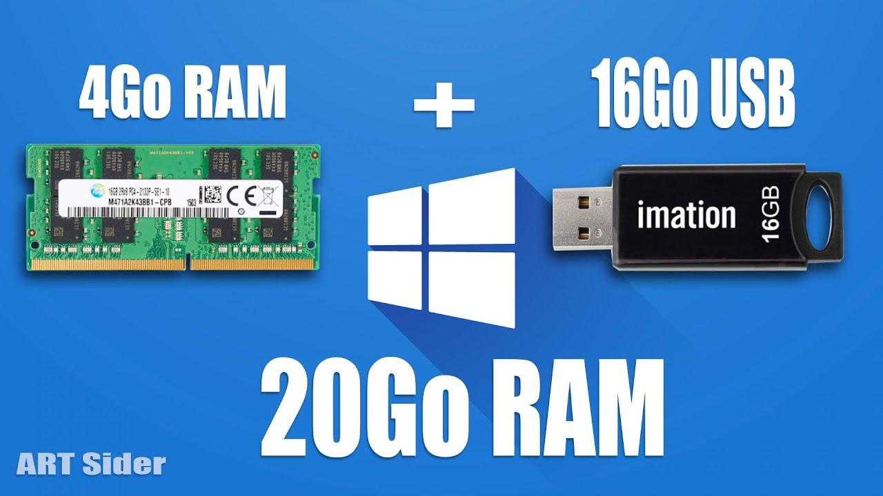 Download Augmenter la RAM de son PC avec une clé USB