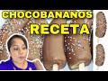 COMO HACER CHOCO BANANOS - RECETA PASO A PASO