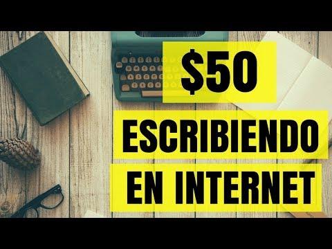 ✅PAGINA QUE PAGA HASTA $50 DOLARES ESCRIBIENDO EN INTERNET EN POCAS HORAS