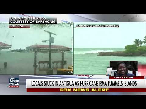 Hurricane Has Cut Off Communication With Barbuda