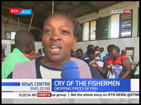 Fishermen decry the dropping prices of fish