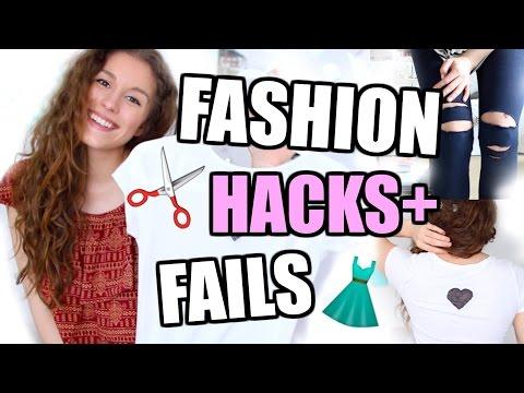 10 FASHION HACKS und FAILS, die DU kennen solltest! ♡ BarbieLovesLipsticks