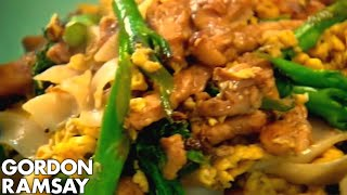 Egg-Fried Rice Noodles with Chicken - Gordon Ramsay thumbnail