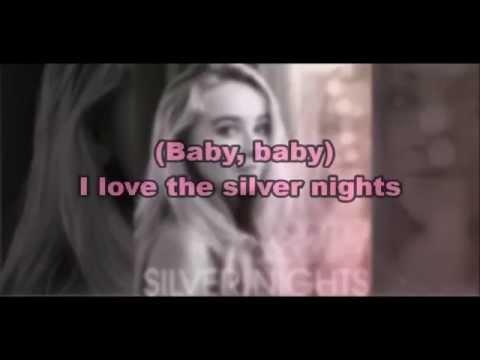 Sabrina Carpenter - Silver Nights (Karaoke + Lyrics)