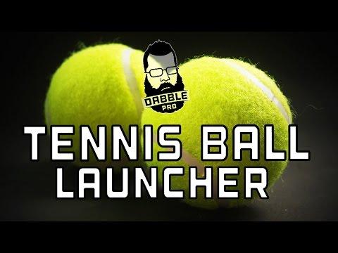 DIY TENNIS BALL LAUNCHER