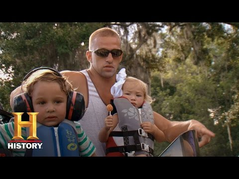 Swamp People: An Impromptu Airboat Ride   History