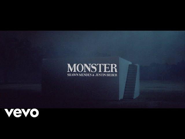Shawn Mendes, Justin Bieber - Monster (Lyric Video)