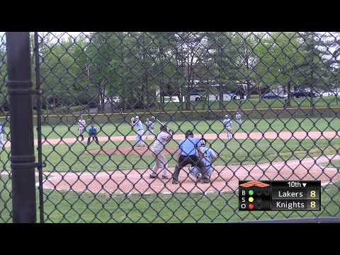 CCBC Essex Baseball vs. Garrett College