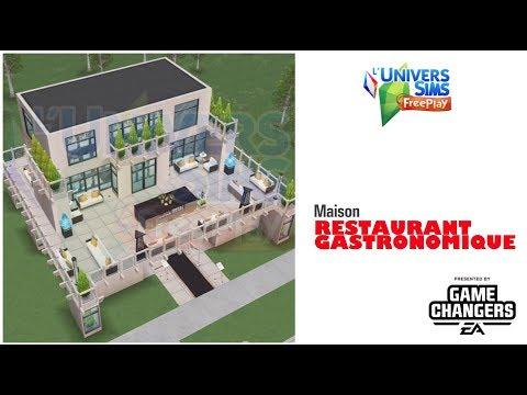 The Sims Freeplay-Maison et prix Repas Gastronomique-Accès Anticipé