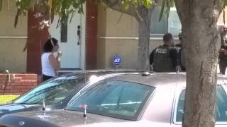U S  Marshal snatches camera from woman in Los Angeles