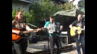 James Bar Bowen & Friends-Live @ Binnenpret-Anarcho Folk Fest-06.07.2013-Amsterdam NL-Pt 2.