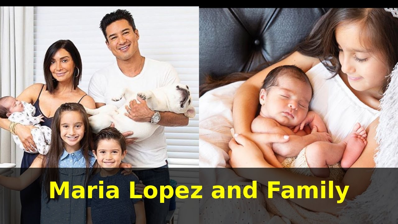 Mario Lopez And Family With New Additions To The Family