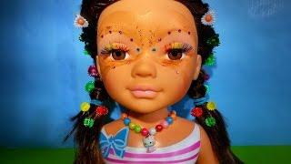 Видео для девочек Как плести прическу кукле Ненси Делаем косички  How to weave hairstyle doll Nancy(Как плести прическу кукле Ненси? Делаем косички! / How to weave hairstyle doll Nancy? Making braids! Куклы с длинными и красивыми..., 2015-10-11T07:30:00.000Z)