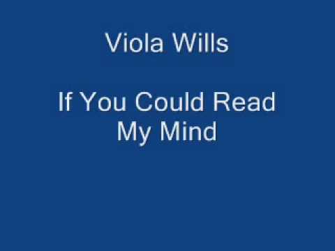 Viola Wills   If You Could Read My Mind