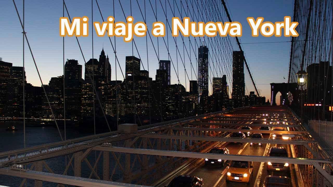 Review de mi viaje a Nueva York - YouTube