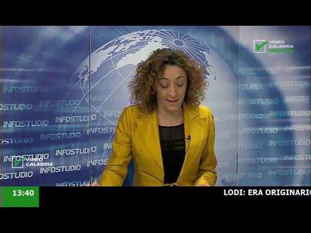InfoStudio il telegiornale della Calabria notizie e approfondimenti - 6 Febbraio 2020 ore 13.30