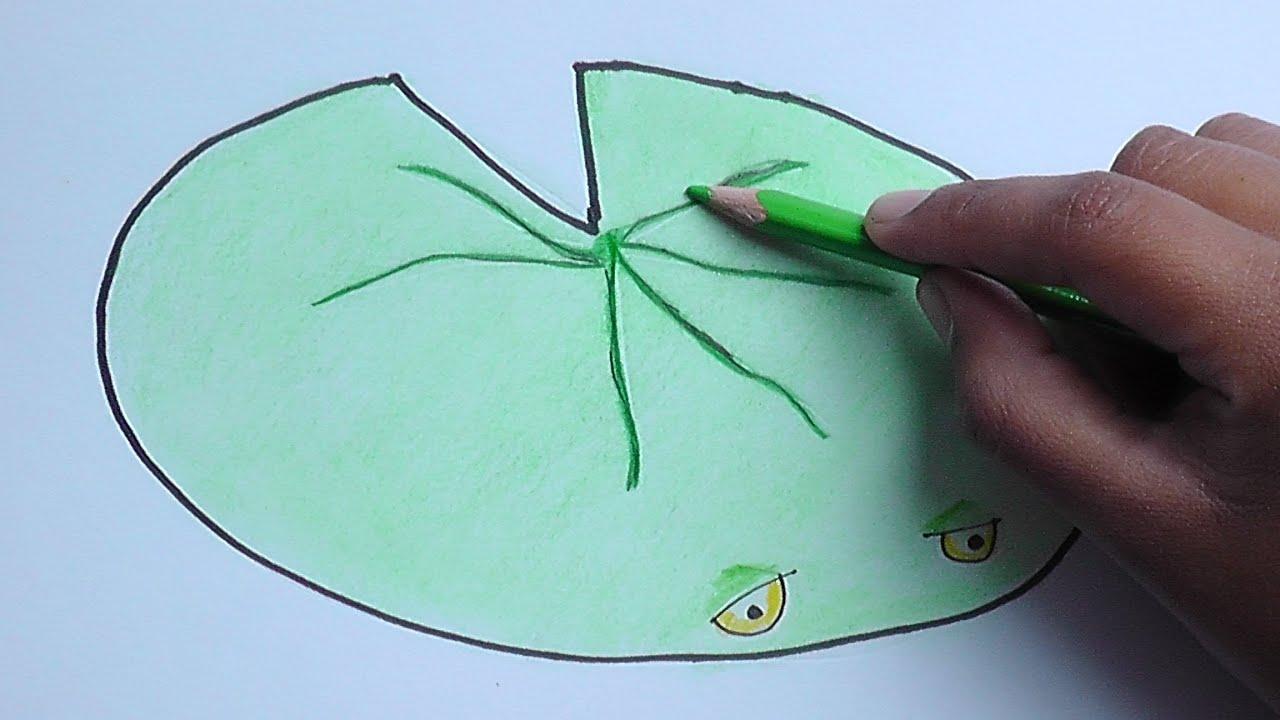 Dibujar Y Pintar A Nenufar (Plantas Vs Zombies)