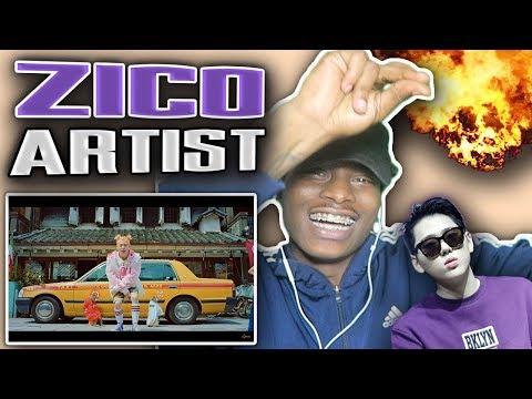I HAVE TO ADD HIM TO MY LIT PLAYLIST | 🔥🔥 지코 (ZICO) - Artist MV | REACTION