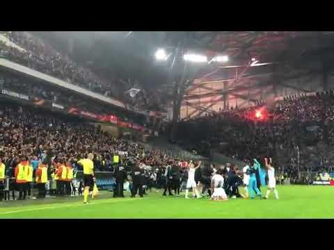L'EXPLOSION du Vélodrome sur le 5ème but, de SAKAI !!! OM 5-2 Leipzig