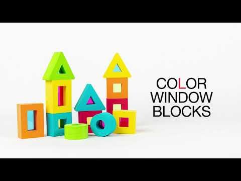 Edushape Color Window Blocks