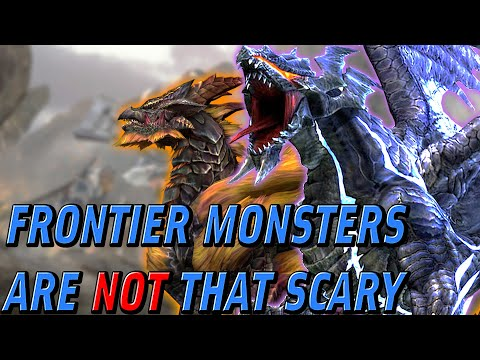 Why Monster Hunter Frontier Monsters AREN&39;T Scary