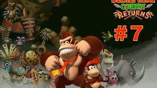 Donkey Kong Country Returns - Walkthrough Part 7 - [HD] (Wii/3DS)