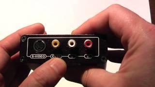 Конвертер сигнала с HDMI на композитный сигнал или S-Video(Данный конвертер позволяет из HDMI сигнала конвертировать видео в S-Video или композитный сигналы + звук правый/..., 2011-01-22T20:46:43.000Z)