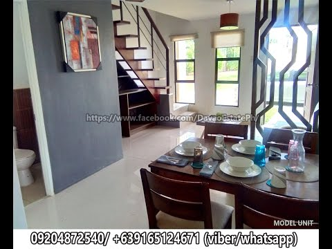 NAVONA DAVAO - Most affordable Townhouse House and Lot in Davao City