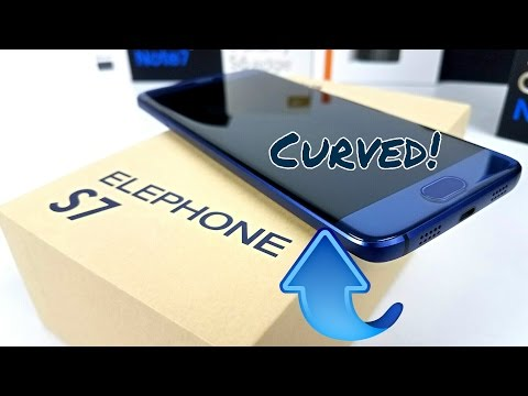 Elephone S7 - From $139 - Curved Display - 4GB/64GB - Helio X20 - Fingerprint - Android 6.0!
