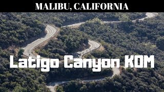 Malibu - Latigo Canyon KOM (before the fire)