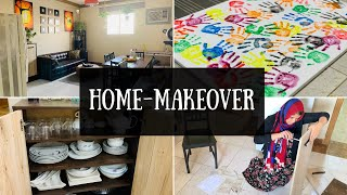 Minor Home Makeover & A Mini Home Tour || DIY Handprint Painting