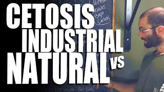 CETOSIS: INDUSTRIAL VS NATURAL - Cómo influyen los alimentos en el cuerpo | KetoBuffed