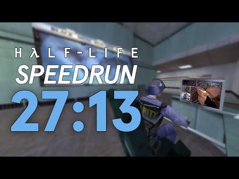 [World Record] Half-Life In 27:13.149   Any% Speedrun