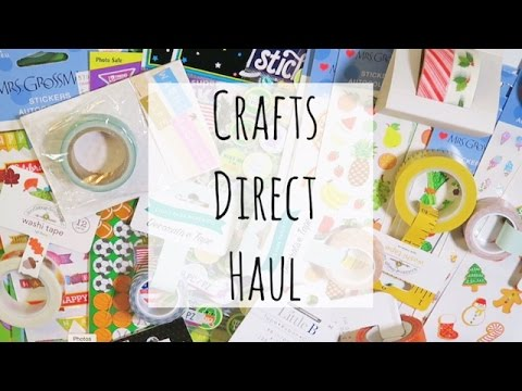 Crafts Direct Haul Youtube