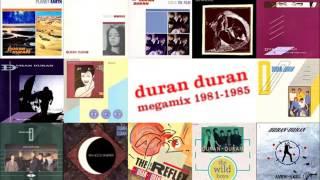 """Duran Duran - 7"""" singles 1981-85 megamix"""